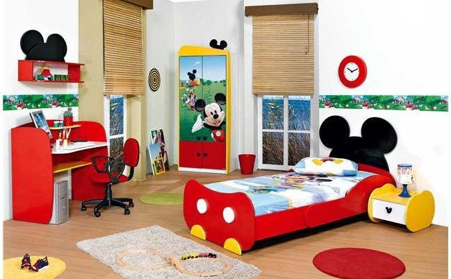 Habitacion mickey mouse 10decoracion - Muebles de mickey mouse ...