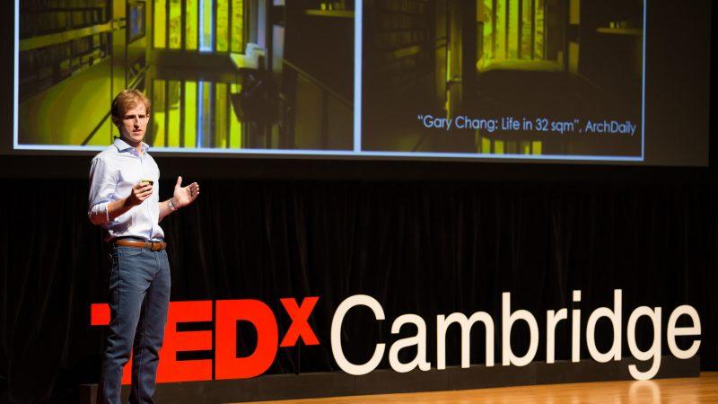 hasier larrea tedX Cambridge. La revolución del espacio