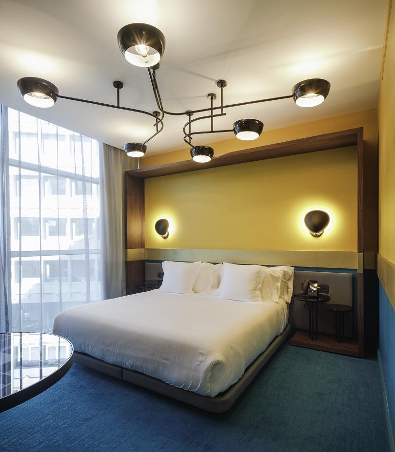 Habitación hotel marquis issabel granada diseño ilmiodesign estudio interiorismo
