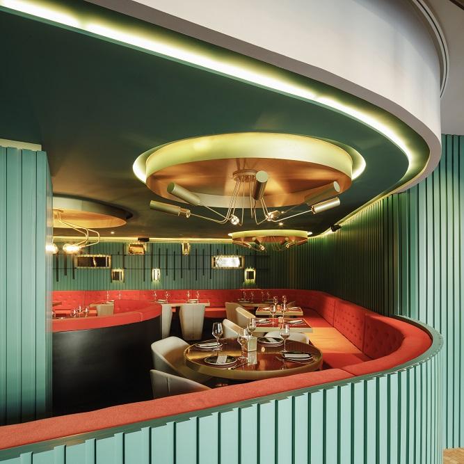 Restaurante de la Reina hotel marquis issabel granada diseño ilmiodesign estudio interiorismo