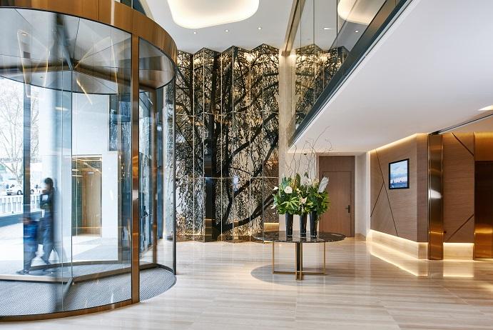 hotel VP Plaza Espana Design 5 estrellas Madrid proyecto Cuarto interior fotos D Schaefer . Entrada