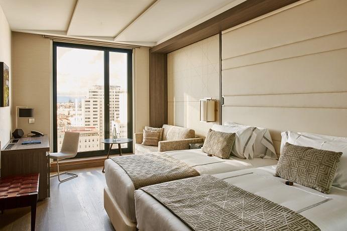hotel VP Plaza Espana Design proyecto Cuato interior fotos D Schaefer . Habitaciones hotel