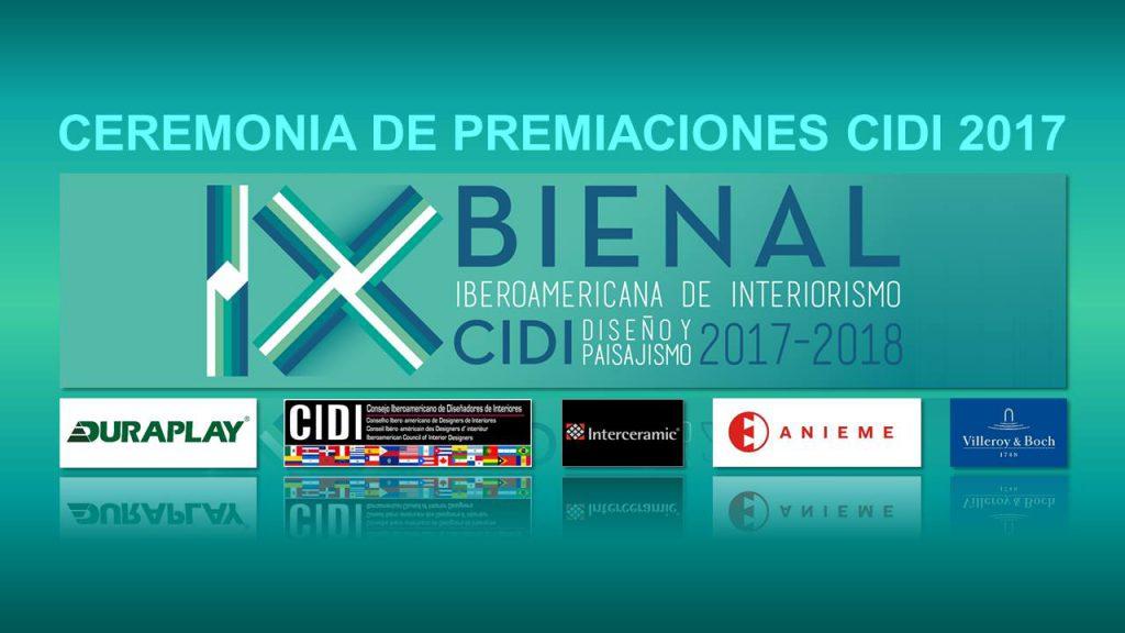 iX bienal cidi iberoamericana con el patrocinio de ANIEME