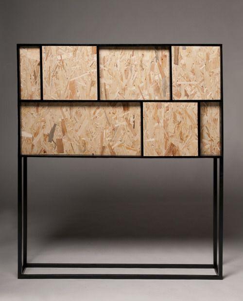 iina vuorivirta's furniture using OSB