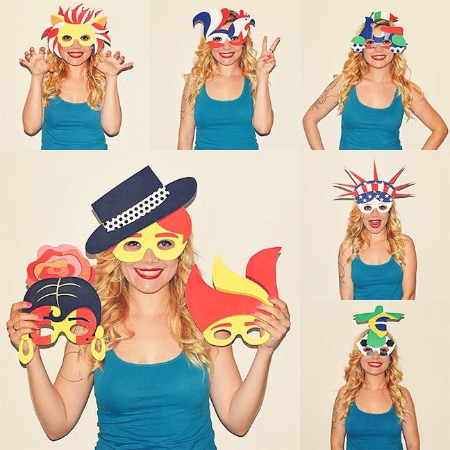 """ 365 Masks Project""  con Sandra Suárez."