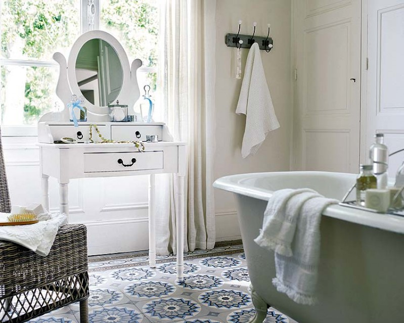 ¡ Baños al más puro estilo Vintage!