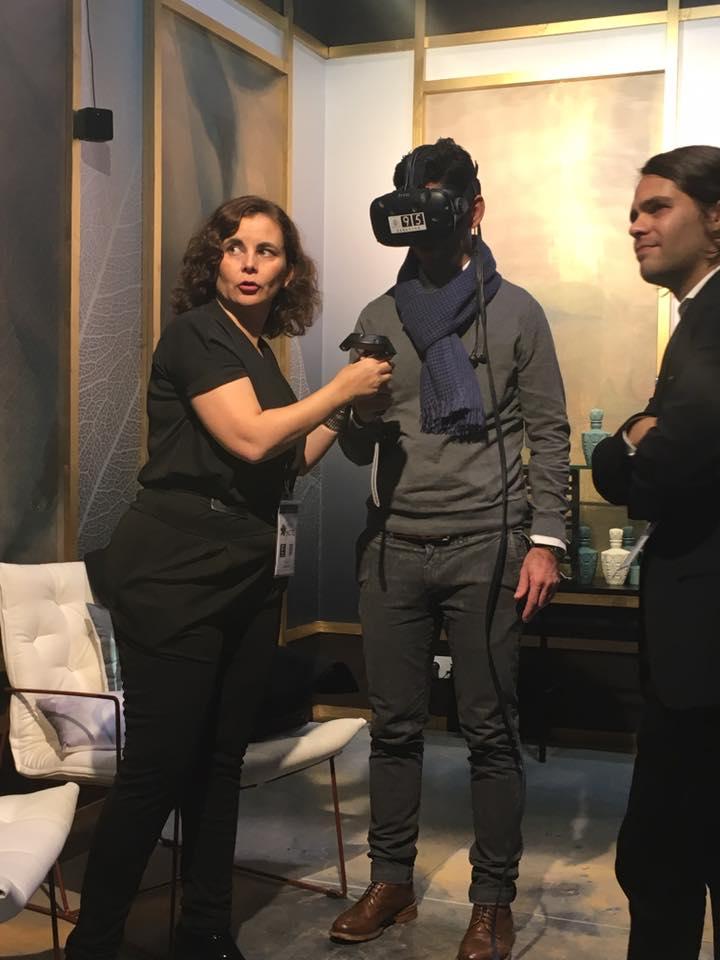 interihotel 2016. wellcome design realidad virtual. Mar Vera y Victor Camacho