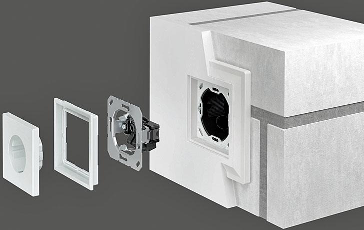 -jung-lszero montaje paredes de obra mecanismos enrasados