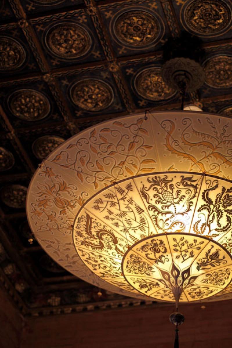 ¡ Espectaculares lámparas Fortuny!