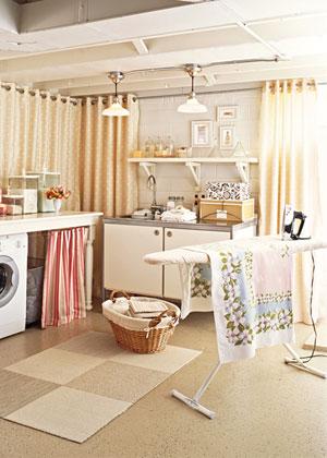 Tienes un cuarto de lavado y planchado? aprende cómo decorarlo ...