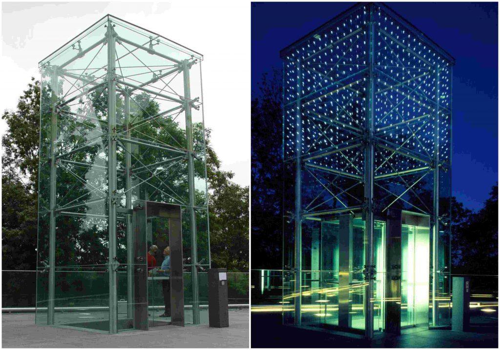 led integrado en vidrio led ideas Light Points (4)
