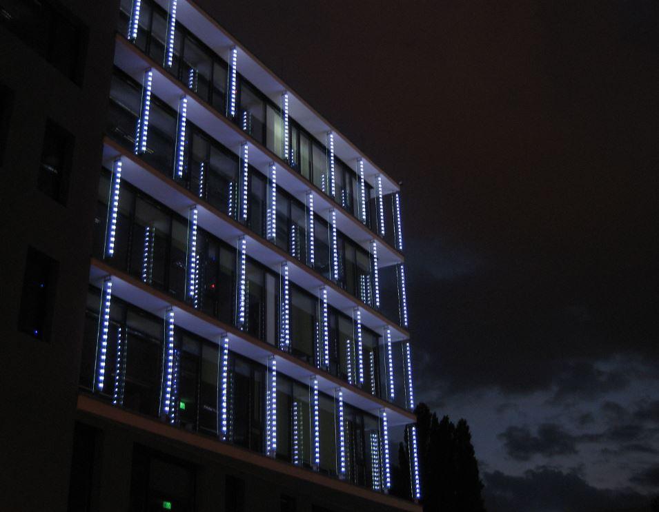 led integrado en vidrio leds light