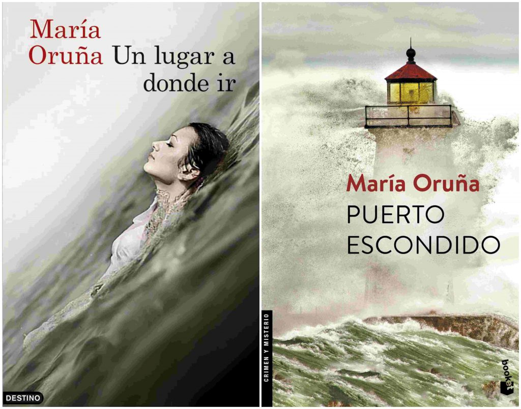 libros de Maria Oruña sobre Suances, Cantabria Cantabria está de moda