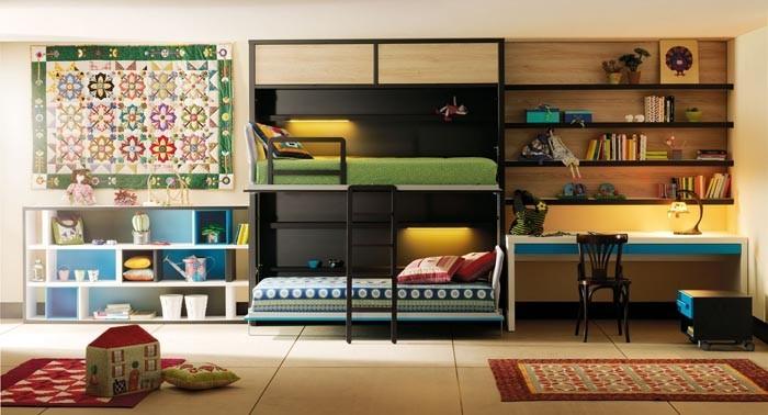 Dormitorios juveniles con estilo 10decoracion - Dormitorios juveniles literas abatibles ...