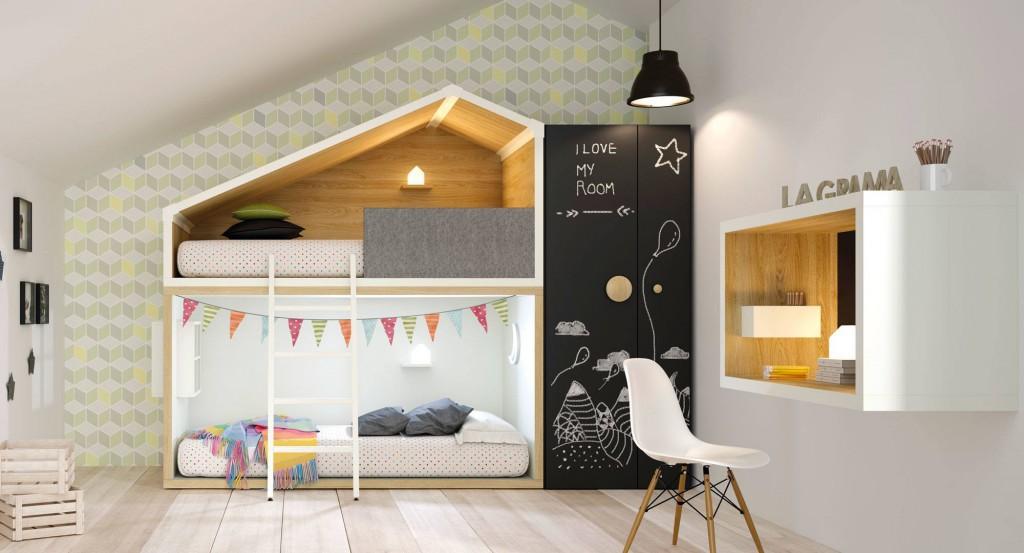 litera-cottage lagrama Dormitorios juveniles con estilo