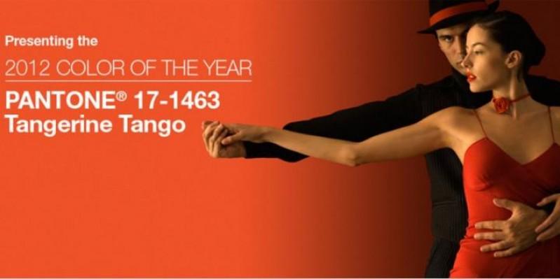 Mandarina Tango, el color del 2012