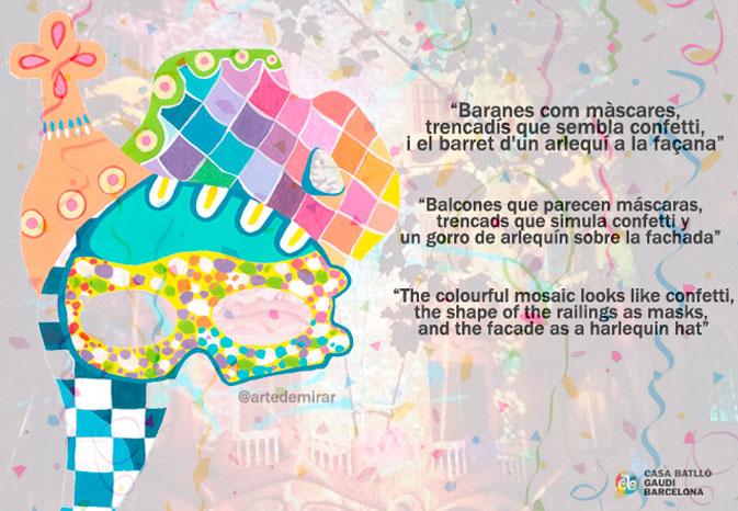 mascara-carnaval-artedemirar Sandra suarez arte artedemirar