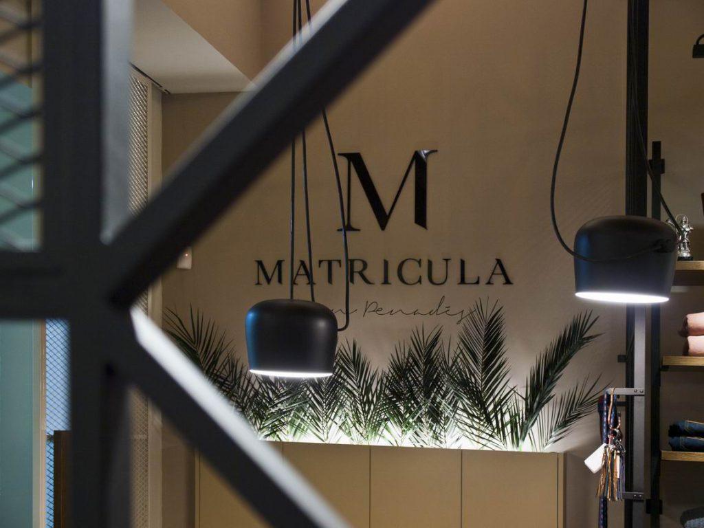 Tienda en Castellon Matrícula. Estudio Vitale. Juan Penadés.
