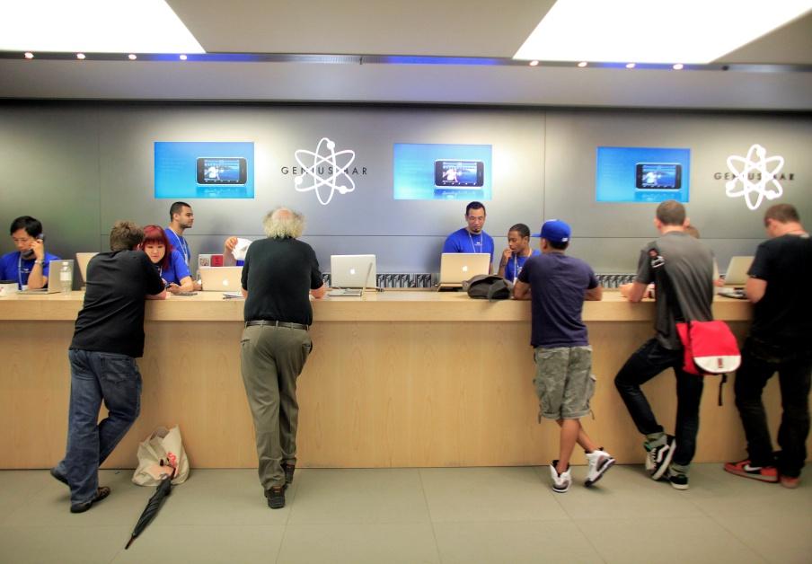 mejorar imagen tienda 5 . apple store