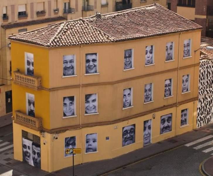 Edificio Mirador Salamanca Obra de Leopoldo García Castellanos. Foto: Asociacion vecinos Zoes
