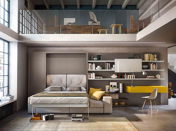 mueble multifuncion Clei . Aprovechar espacio