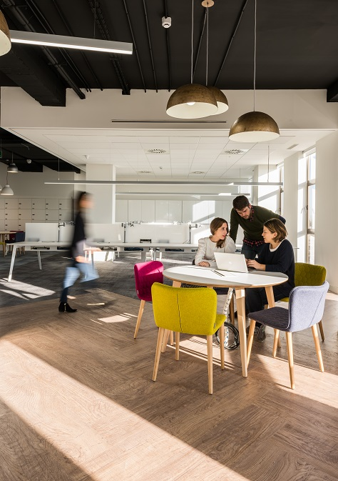 oficinas British telecom en Madrid. Proyecto workplace 3g office 1