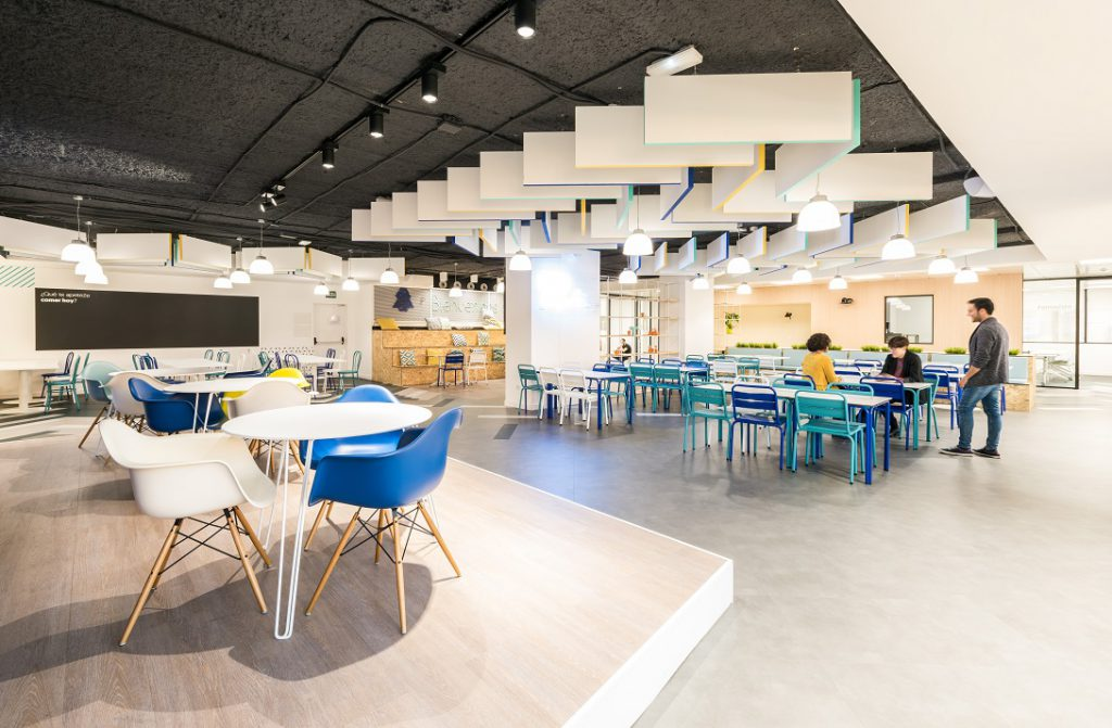 Wizink tu banco senzillo nueva sede en madrid proyecto for Oficina de transporte madrid
