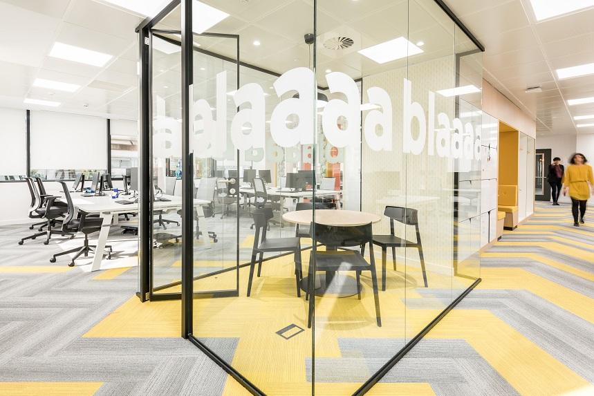 Wizink tu banco senzillo nueva sede en madrid proyecto 3g office 10decoracion - Banco popular oficinas madrid ...