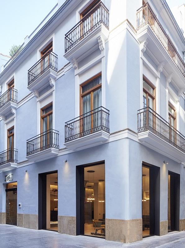 one shot mercat hotels nonnadesign. fotos david zarzoso. Valencia. Vista del fachada