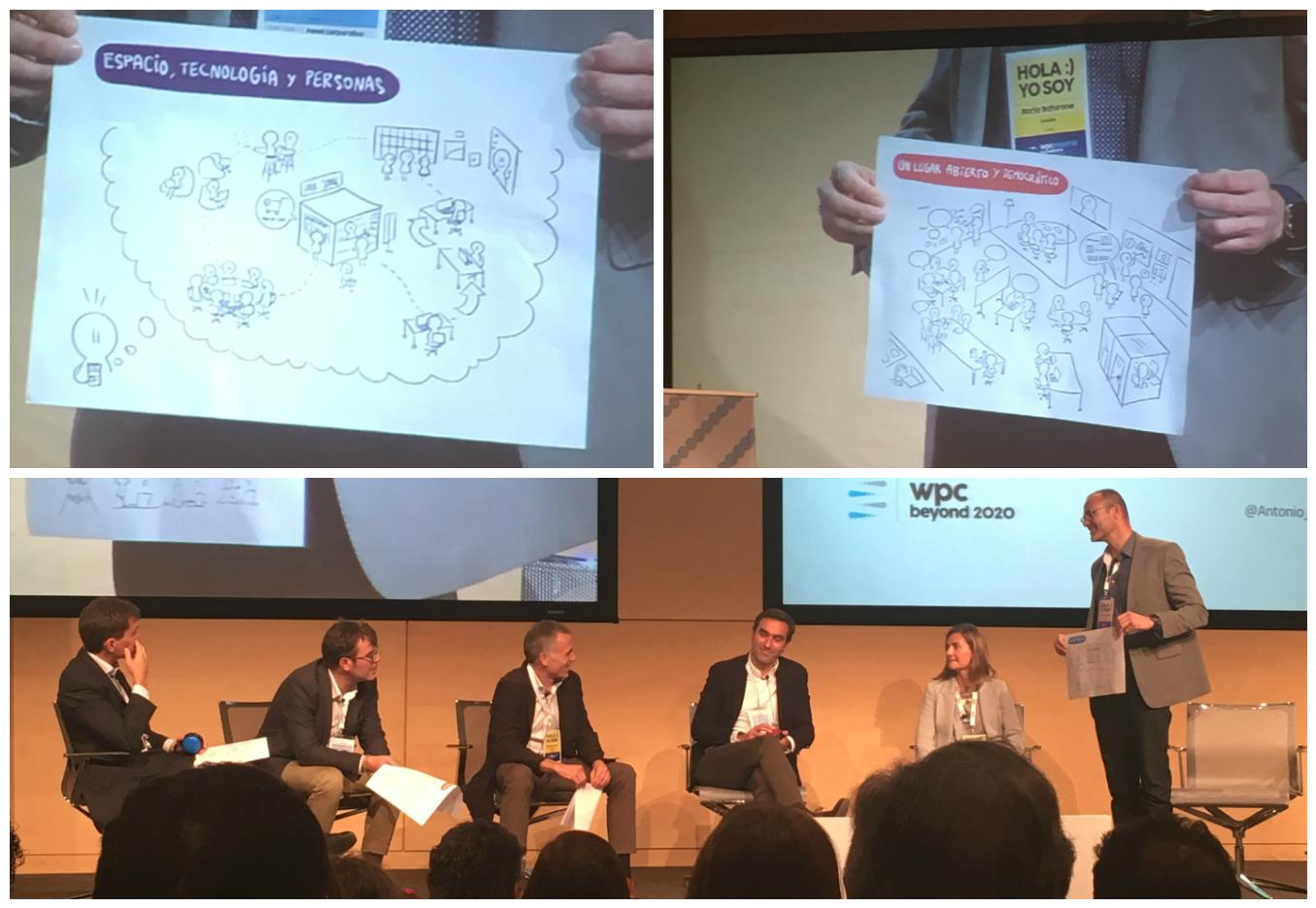panel innovación Endesa Workplace conference con Borja Baturone