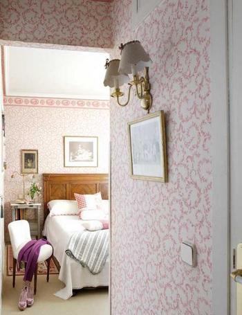 Cambia de aires tu hogar con el papel pintado 10decoracion - Poner papel pintado sobre gotele ...