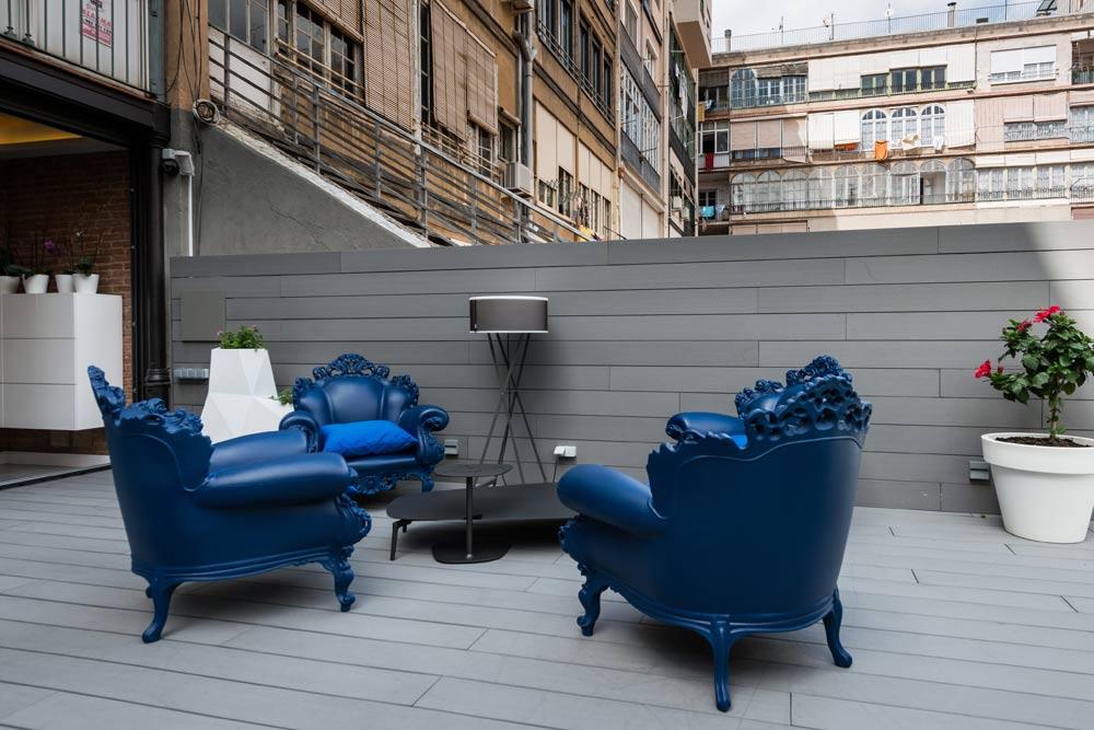 piso Ensanche Barcelona diseño de SINCRO. terraza 2