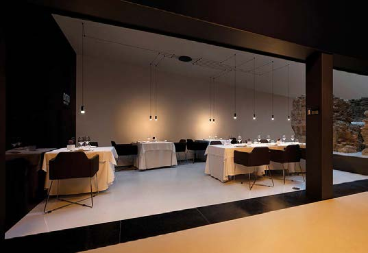 claves para una buena iluminacion derestaurantes . Espacio aretha. lighting designer