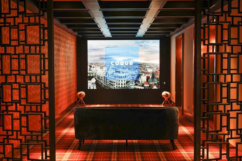 restaurante Coque Madrid Hermanos Sandoval . Diseño Jean Porsche entrada