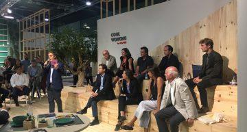 Histórico encuentro de empresas Premio Nacional de Diseño en Habitat Valencia.