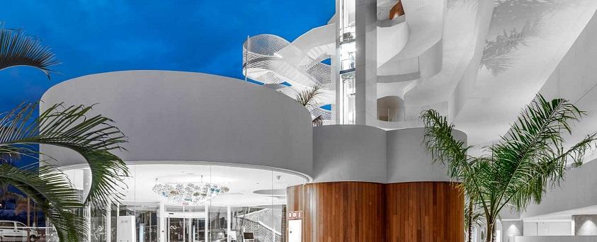 royal hideaway Corales resort Adeje. tenerife. Mejor Hotel 2018 fachada Leonardo Omar Arquitectos