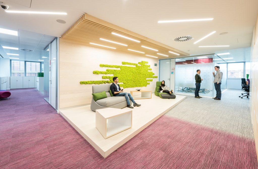 sede Roche Madrid diseño 3g office (20) Roche Farma Spain. workspace. Edificio sostenible
