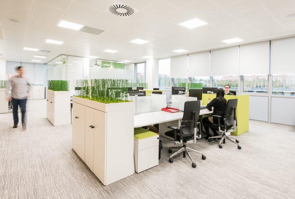 sede Roche Madrid diseño 3g office (23) Roche Farma Spain. workspace. Edificio sostenible