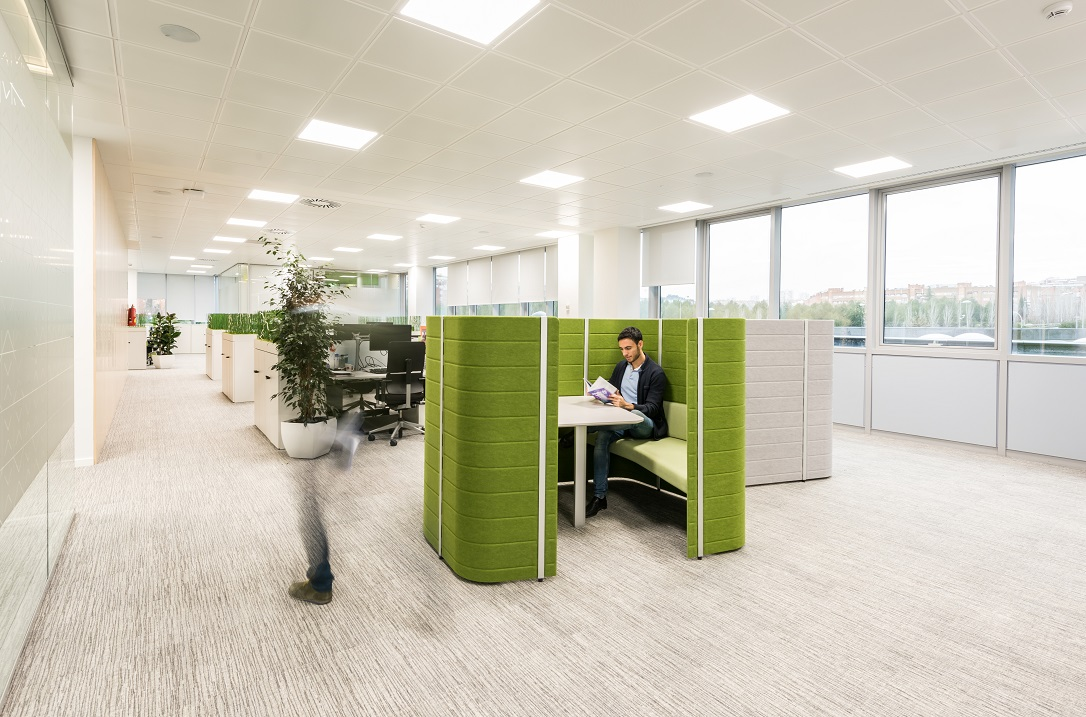 sede Roche Madrid diseño 3g office (24) Roche Farma Spain. workspace ...