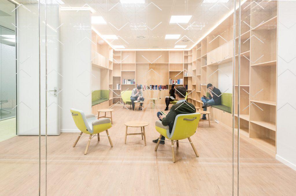sede Roche Madrid diseño 3g office (25) Roche Farma Spain. workspace. Edificio sostenible