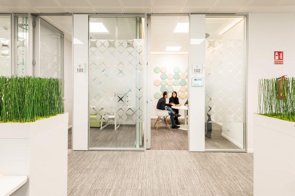 sede Roche Madrid diseño 3g office (27) Roche Farma Spain. workspace. Edificio sostenible