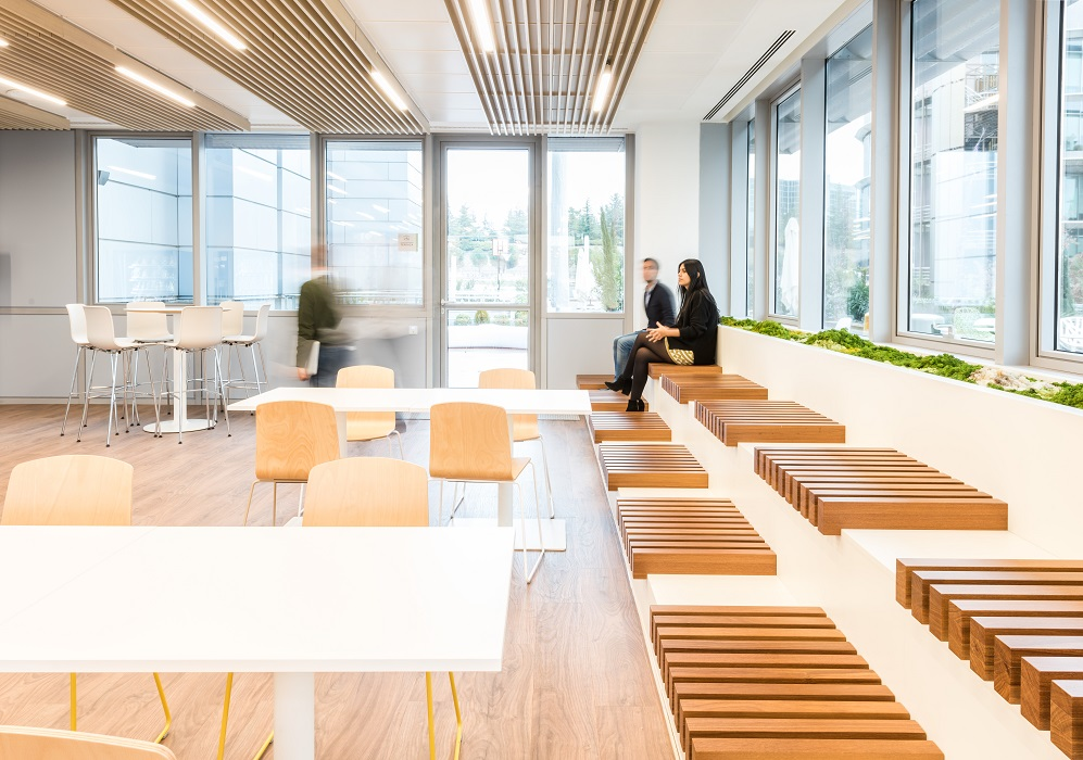 sede Roche Madrid diseño 3g office (28) Roche Farma Spain. workspace. Edificio sostenible