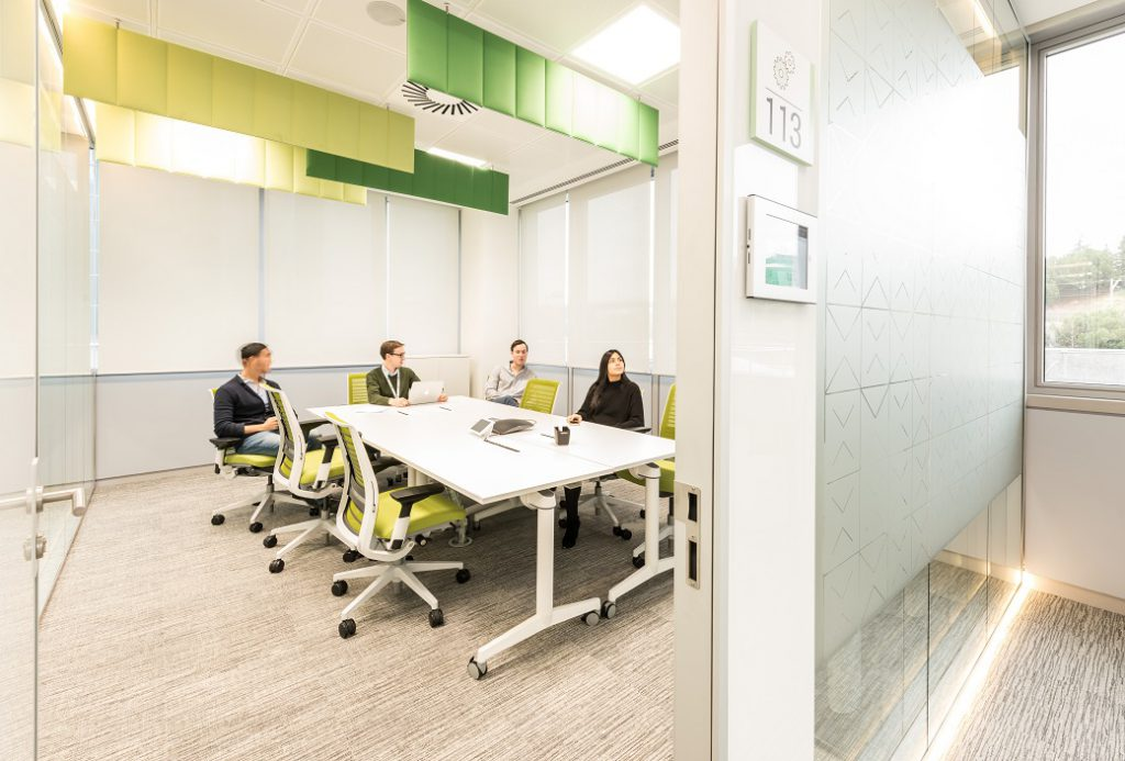 sede Roche Madrid diseño 3g office (30) Roche Farma Spain. workspace. Edificio sostenible