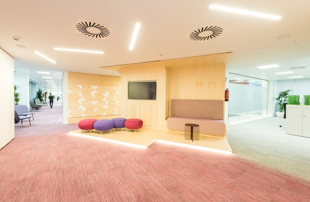 sede Roche Madrid diseño 3g office (31) Roche Farma Spain. workspace. Edificio sostenible