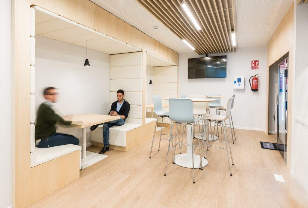 sede Roche Madrid diseño 3g office (33) Roche Farma Spain. workspace. Edificio sostenible