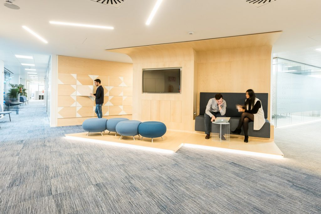 sede Roche Madrid diseño 3g office (34) Roche Farma Spain. workspace. Edificio sostenible