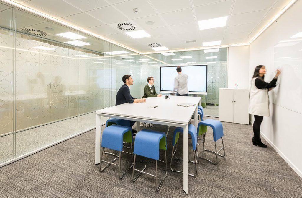 sede Roche Madrid diseño 3g office (36) Roche Farma Spain. workspace. Edificio sostenible