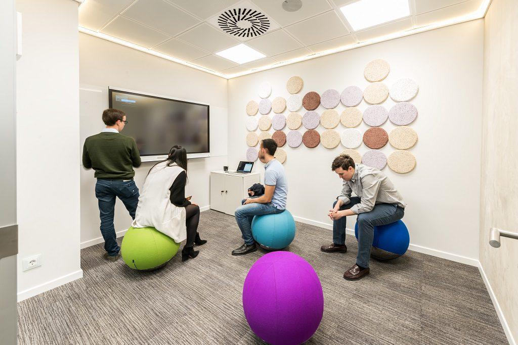 sede Roche Madrid diseño 3g office (37) Roche Farma Spain. workspace. Edificio sostenible