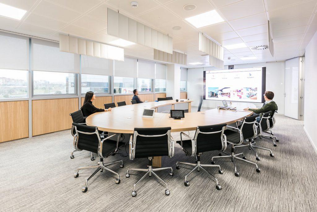 sede Roche Madrid diseño 3g office (38) Roche Farma Spain. workspace. Edificio sostenible