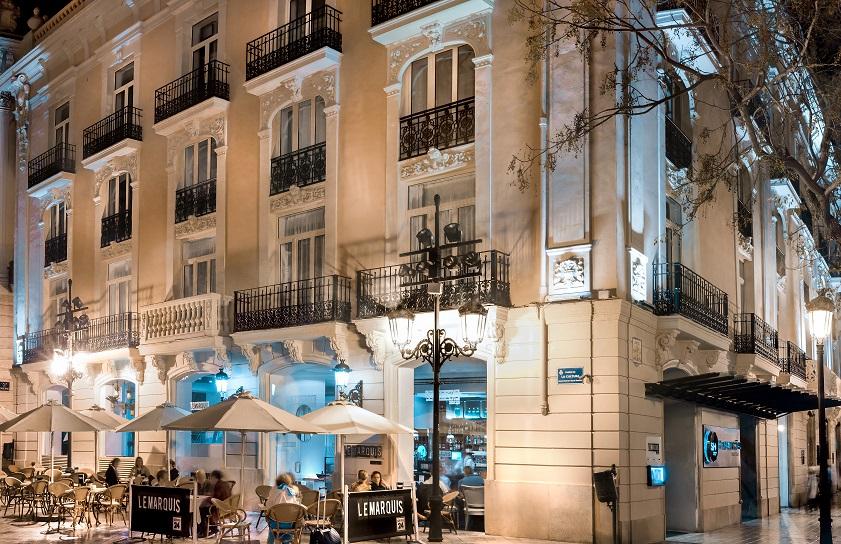 Sh hotel ingl s de valencia dise o y estilo british for Hotel diseno valencia
